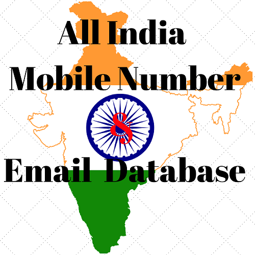 All India Mobile Number and Email Database