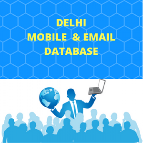 Delhi NCR Database- Email List & Mobile Number