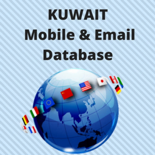 KUWAIT Email List and Mobile Number Database