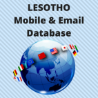 LESOTHO Email List and Mobile Number Database