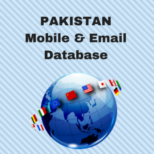 PAKISTAN Email List and Mobile Number Database