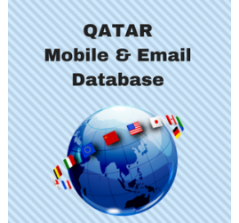 Qatar Mobile Numbers Database & Email List - Free Download