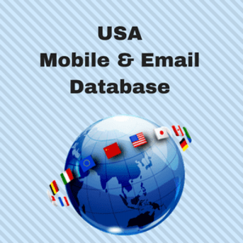 USA Email List and Mobile Number Database